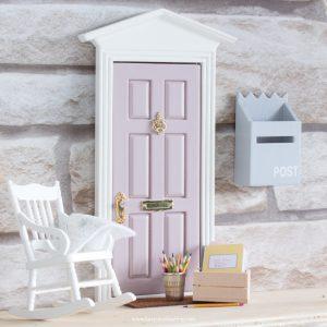 mauve fairy door uk