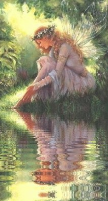 Public domain image faery