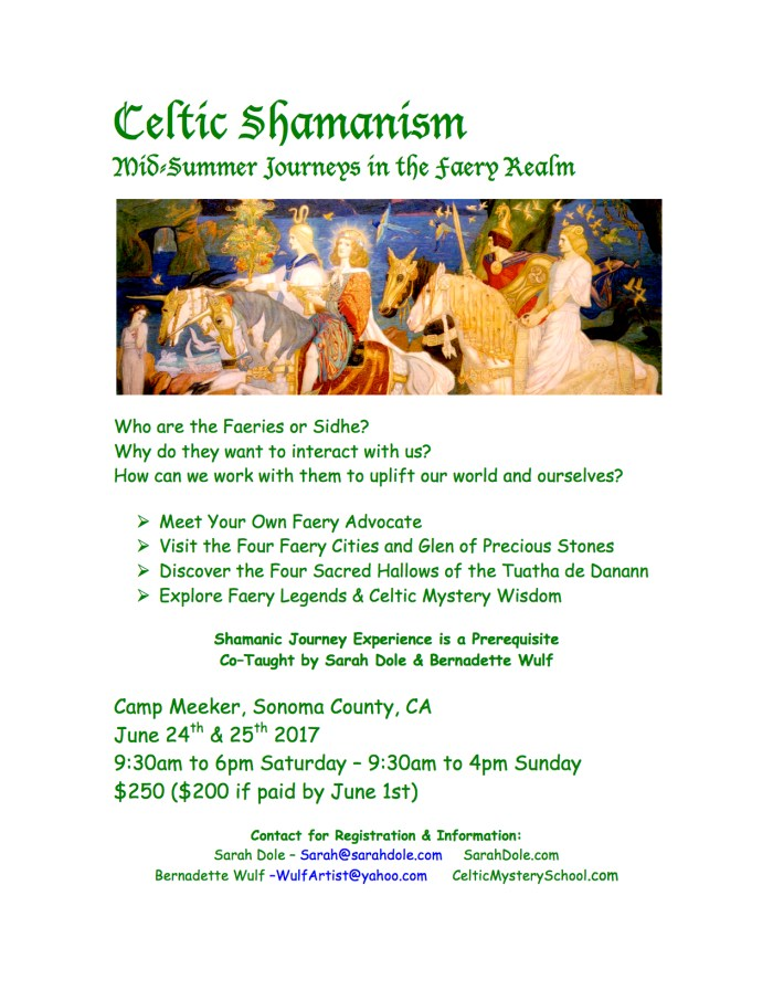 Celtic Shamanism MidSummer Journeys in the Faery Realm