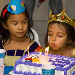 Birthday Parties at Fairytale Town