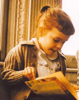 Laura at age 5