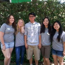 Volunteers at Fairytale Town