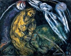 "Marc Chagall, ""The Prophet Jeremiah,"" 1968, from http://en.wikipedia.org/wiki/Marc_Chagall (accessed October 20, 2015)."
