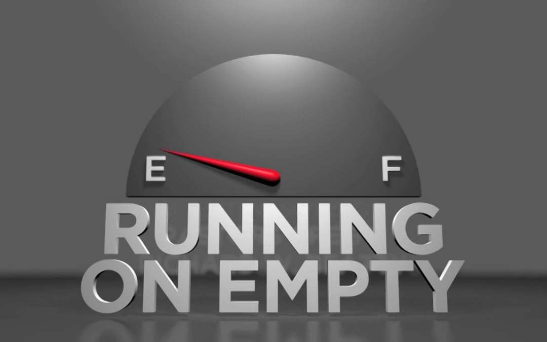 Running on Empty because of STRESS – Sermon Preview for July 16
