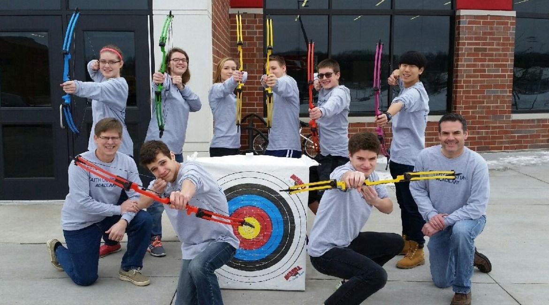 Two Grants Start Archery Team