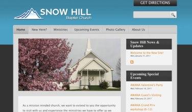 SnowHillBaptist.org