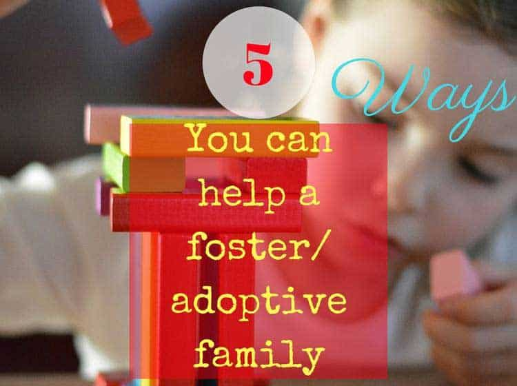 help foster family