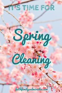 Spring-Cleaning Spring Cleaning