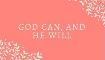 God-Can Free Printables