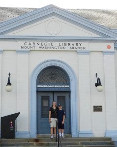 carnegie library in mount washington branch, pittsburg