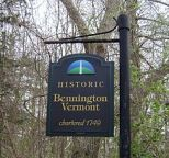 sign bennington, vT