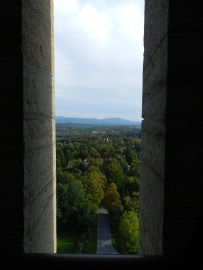 inside battle of bennington monument, VT