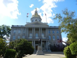 NH state house, concord
