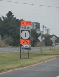 detour in DE