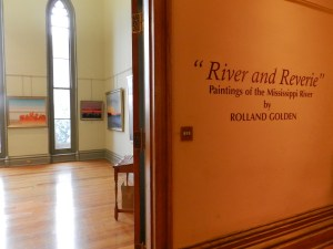 river and reverie special art exhibit in LA old capitol