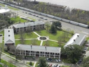 pentagon buildings in baton rouge