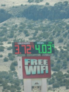 price of diesel in nm