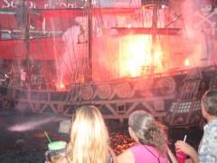 pirate show at treasure island
