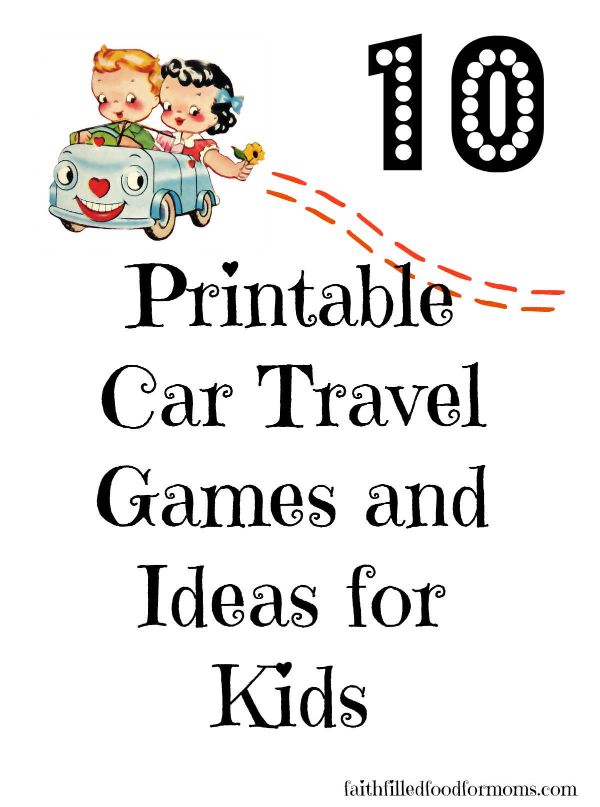 Car Travel Games And Ideas