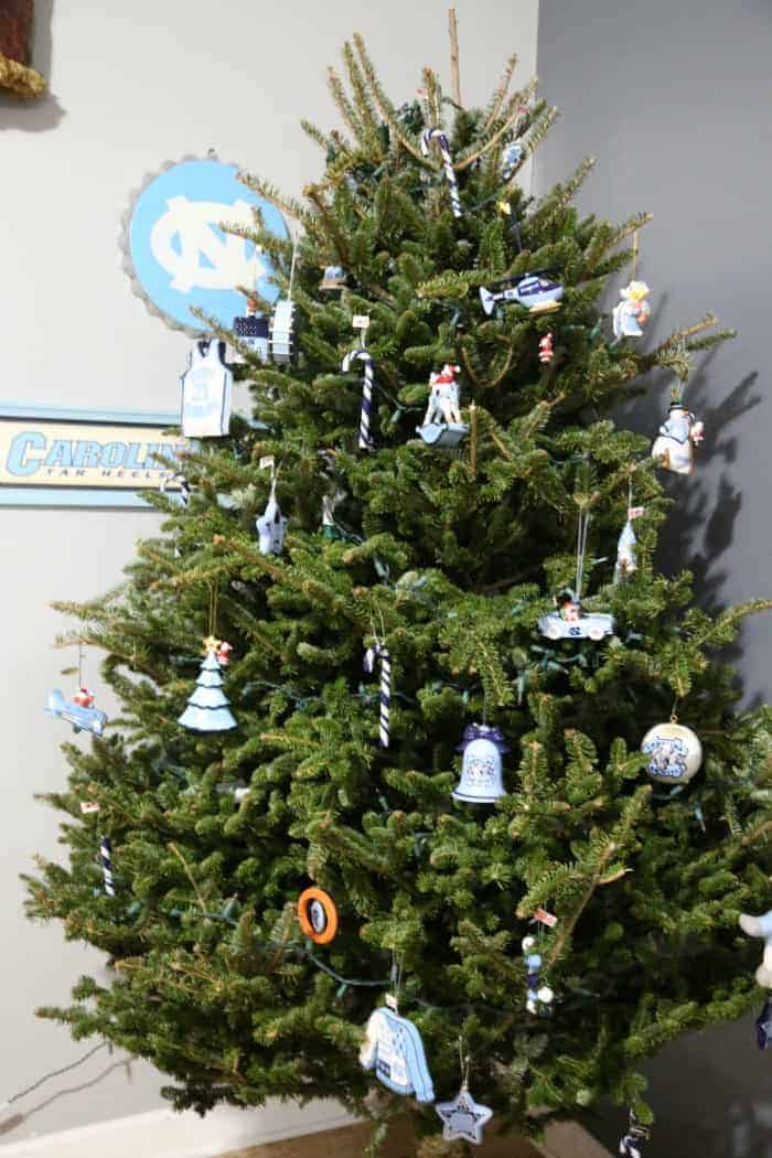University Of North Carolina Christmas Tree Faithfully Free
