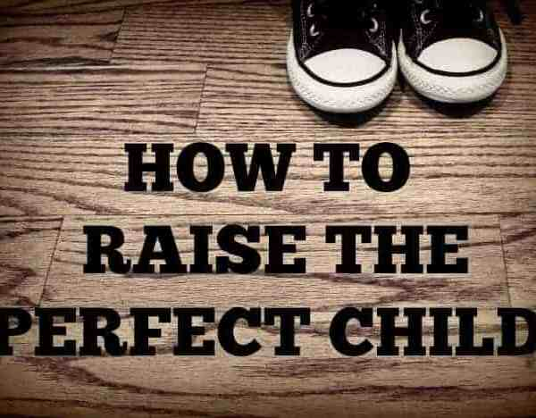Get Your Copy: How to Raise the Perfect Child