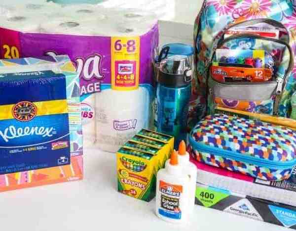 Back To School w/ Box Tops for Education