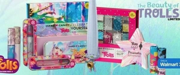 Trolls Hard Candy Makeup – Super Cute Stocking Stuffers!