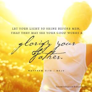 Let Your Light Shine - FaithGateway