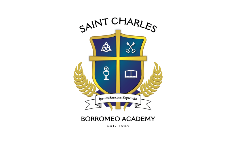 New crest for saint charles borromeo academy faith in for T shirt printing st charles mo