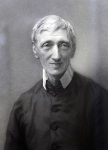 John Henry Newman prior to his conversion to Roman Catholicism.