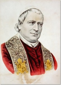 The affable, deeply devout Pius IX was one of the youngest bishops ever elected Bishop of Rome.