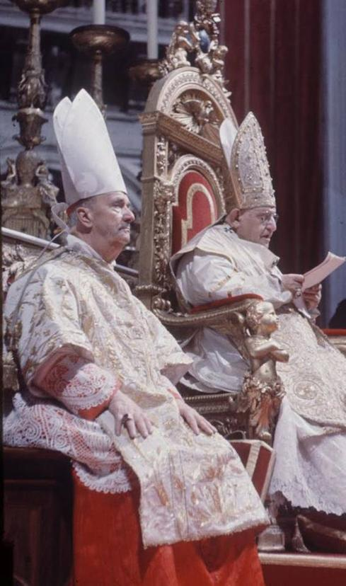 Pope John XXIII delivers the allocution opening Vatican Council II. His speech embodies a lifetime of experiences.