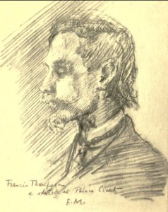 Five years before his death, the frail, drug-addicted Francis Thompson was regarded as the premier Catholic poet of Victorian England.