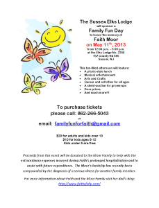 Faith's Family Fun Day