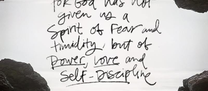 Power, Love, and Self-Discipline