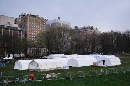 Samaritan's Purse Sets Up Emergency Field Hospital for Coronavirus Patients in New York City