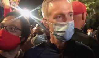 Eyewitness Says Portland Mayor Ted Wheeler Exaggerated Tear Gas Incident