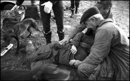 janvier 2004 10h34, Bouex charente, accident de chasse, en rechargant son arme le malheureux à tiré accidentellement sur son collègue. adieux faisans; perdrix; becasses.