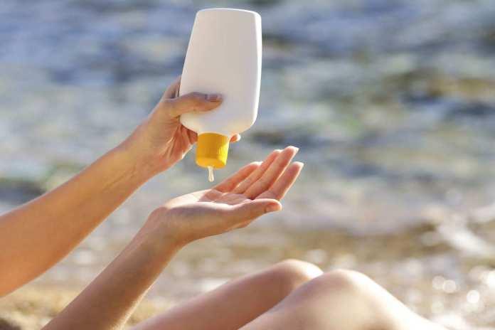 sunscreen faiza beauty cream