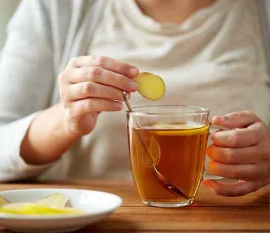 ginger tea faiza beauty cream