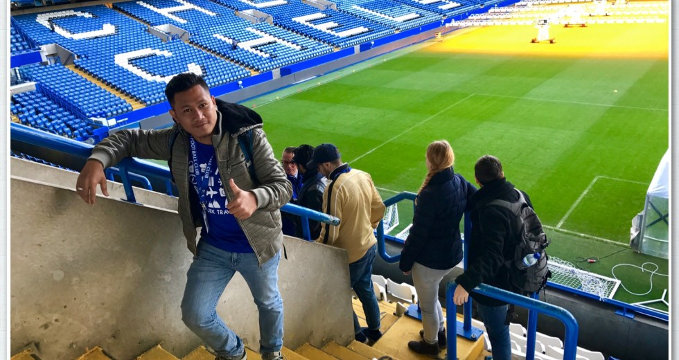 Seharian di Stamford Bridge Chelsea Stadium