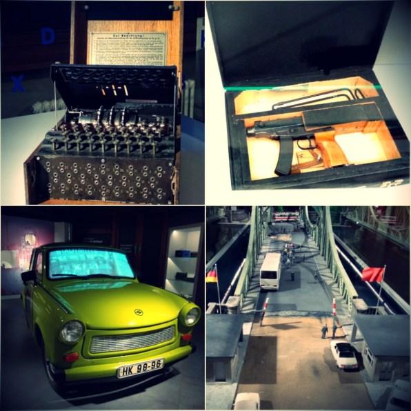 Spionagemuseum in Berliin