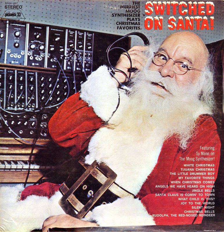 Switched On Santa by Sy Mann