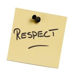 respeitar