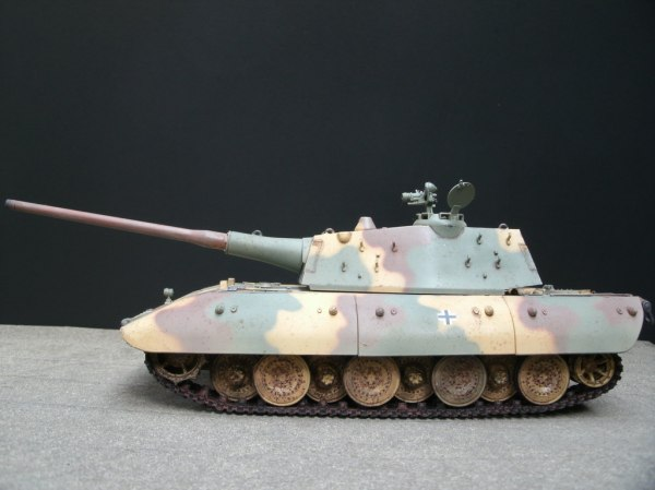 Carro Armato P40 & German E100 Super Heavy Tank ...