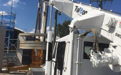 Falcon Cranes – Our Franna In Action!