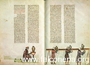 f De arte venandi cum avibus editio Manfredi Bibliotheca Vaticana