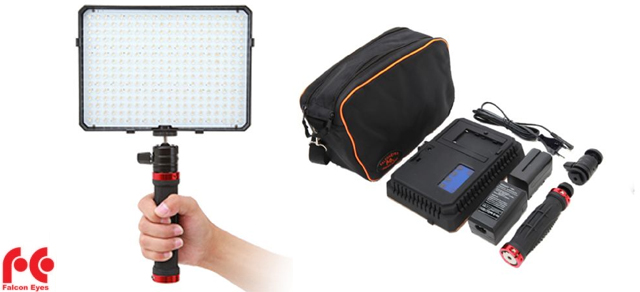 Falcon Eyes LED Lamp Set DV-300F2-K1: Dimmable! « Video