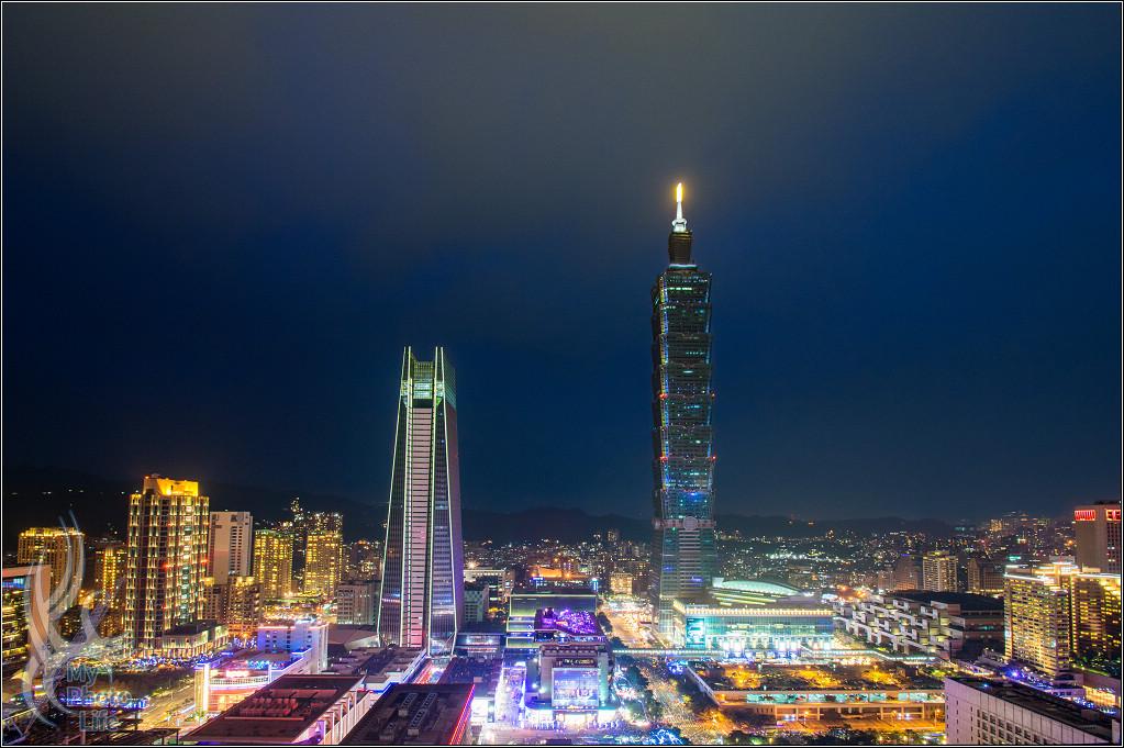 20180101台北101.跨年煙火