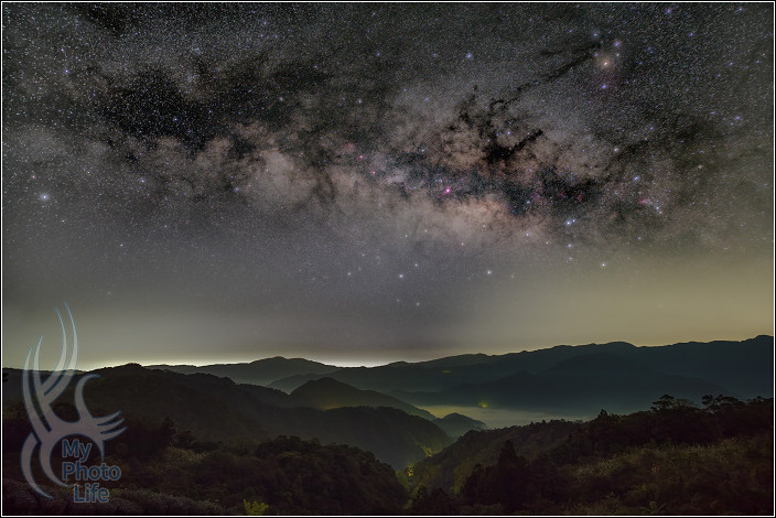 二月坪林:星空&銀河5894